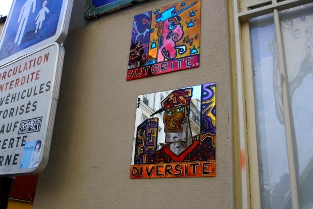 autorité diversité ( rue Tholozé)