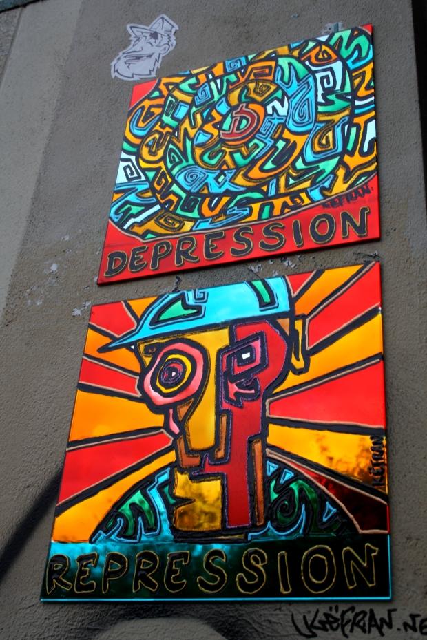 dépression répression (place du calvaire)