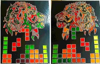 Tetris lions